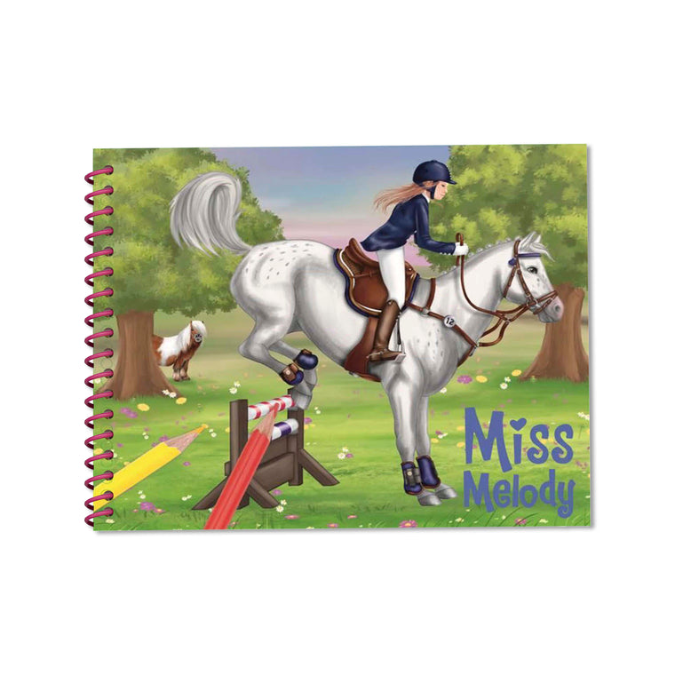 Dress Up Your Horse Colouring/Activity Book