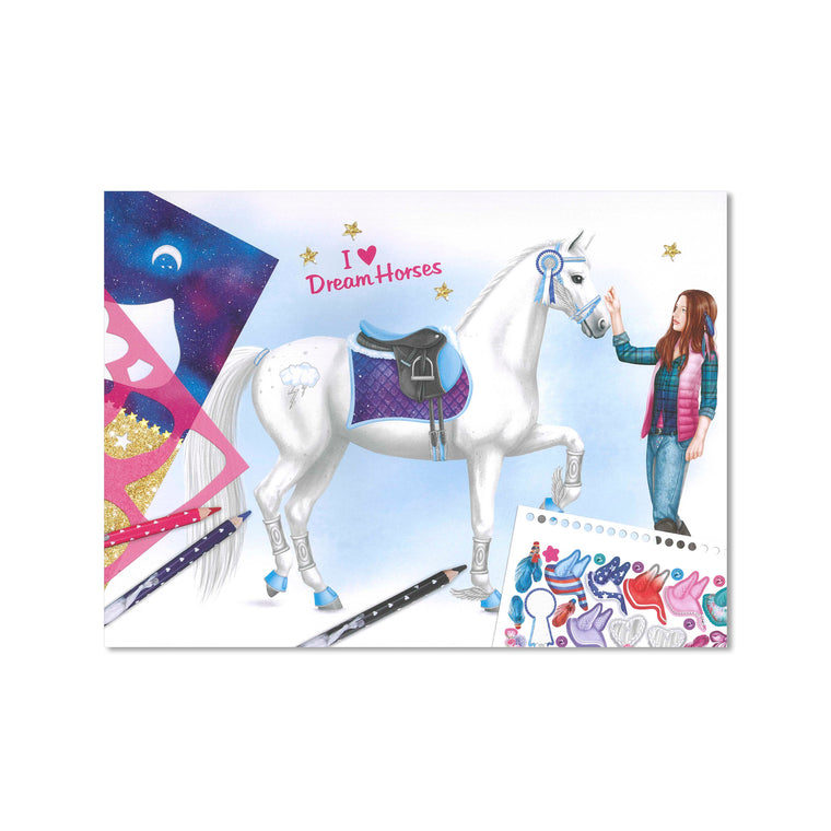 Create Your Dream Horse Activity Set