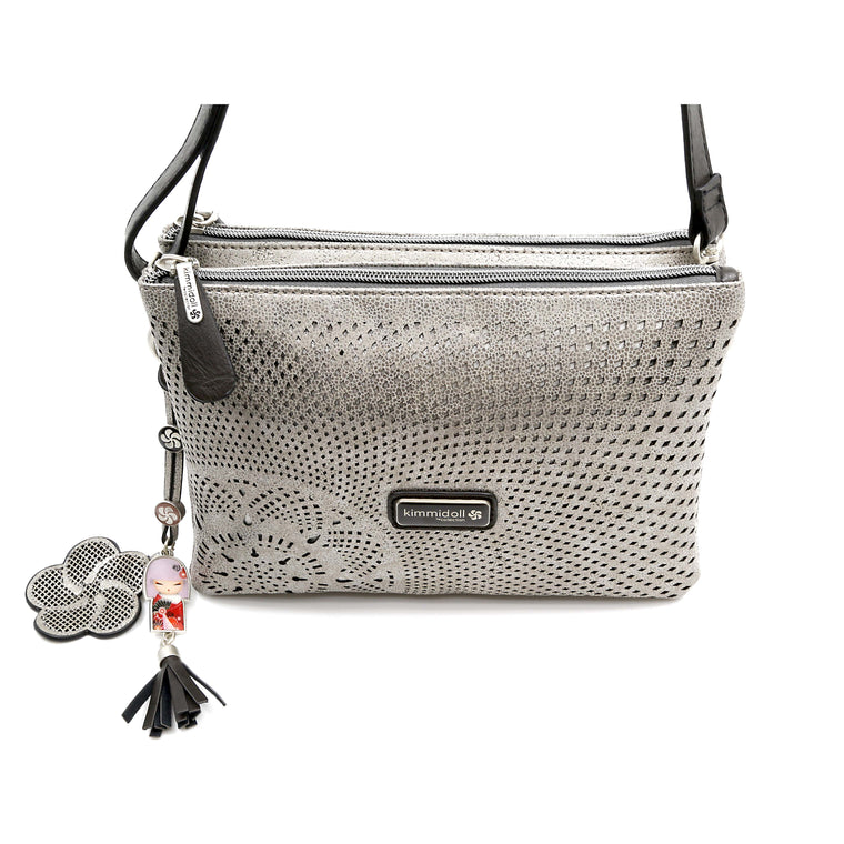 Mikoko – Silver Signature Shoulder Bag