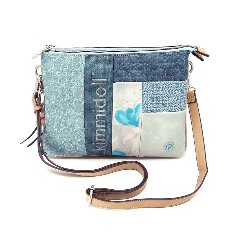 Takara – Blue Signature Shoulder Bag