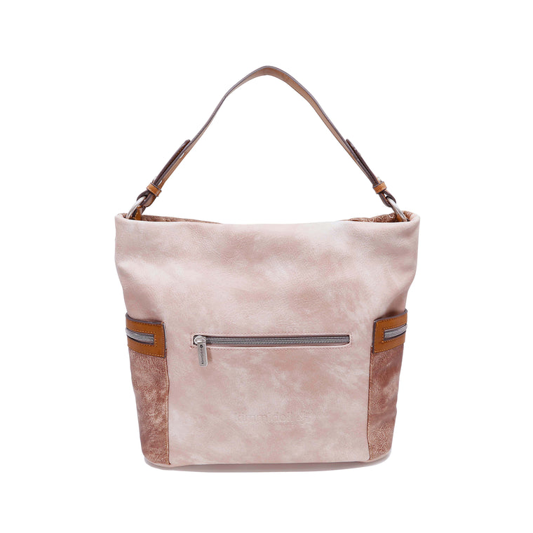 Takara – Beige Signature Shoulder Bag