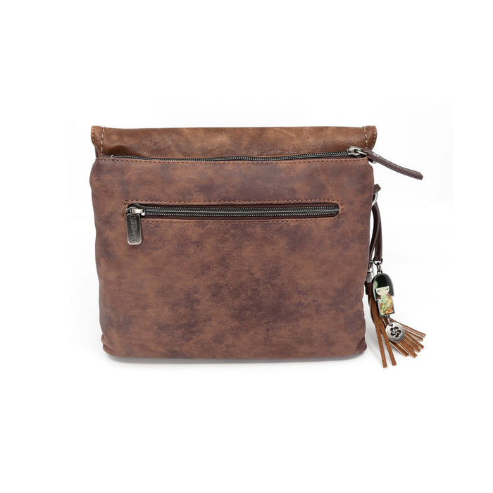 Akira – Brown Signature Shoulder Bag