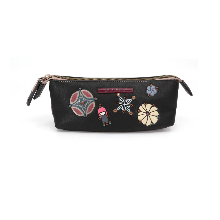 Kokoro - Black Signature Toiletry Case