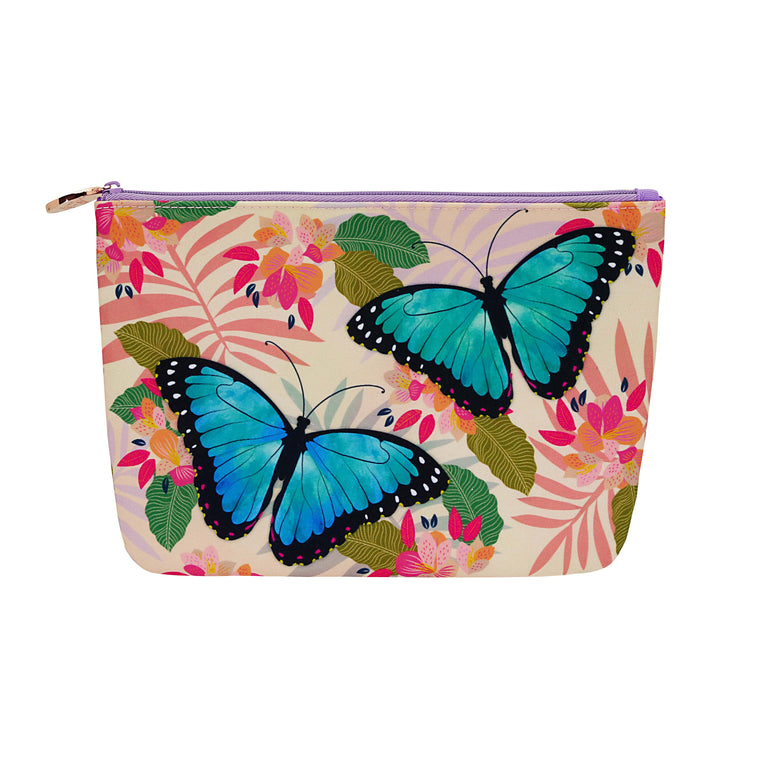 Butterflies - Cosmetic Purse