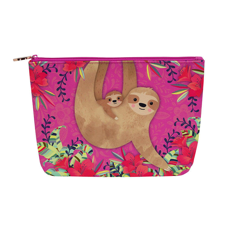 Sloths - Cosmetic Purse