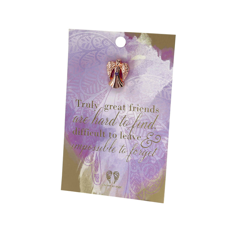 Truly Great Friends - Pin Card