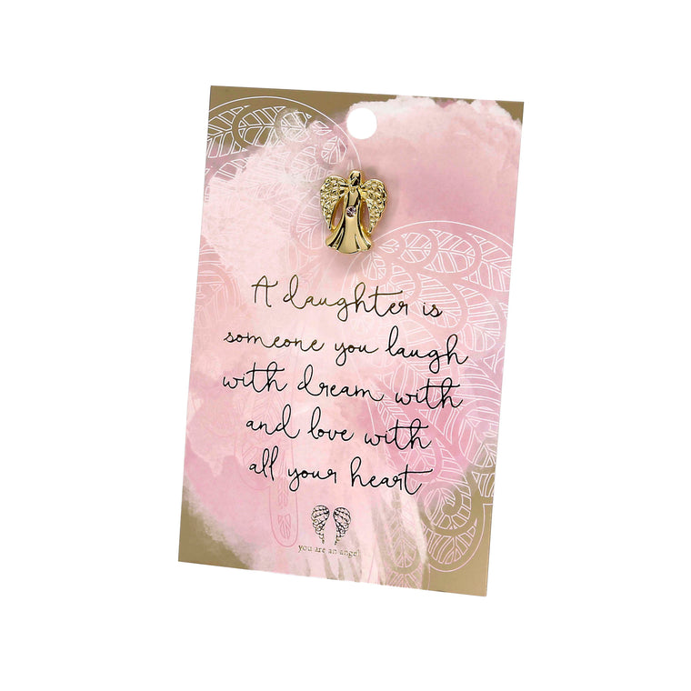 A Daughter Is - Pin Card