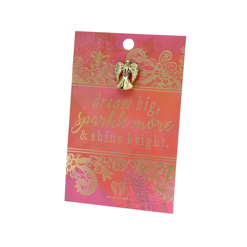 Sparkle and Shine - Pin Card