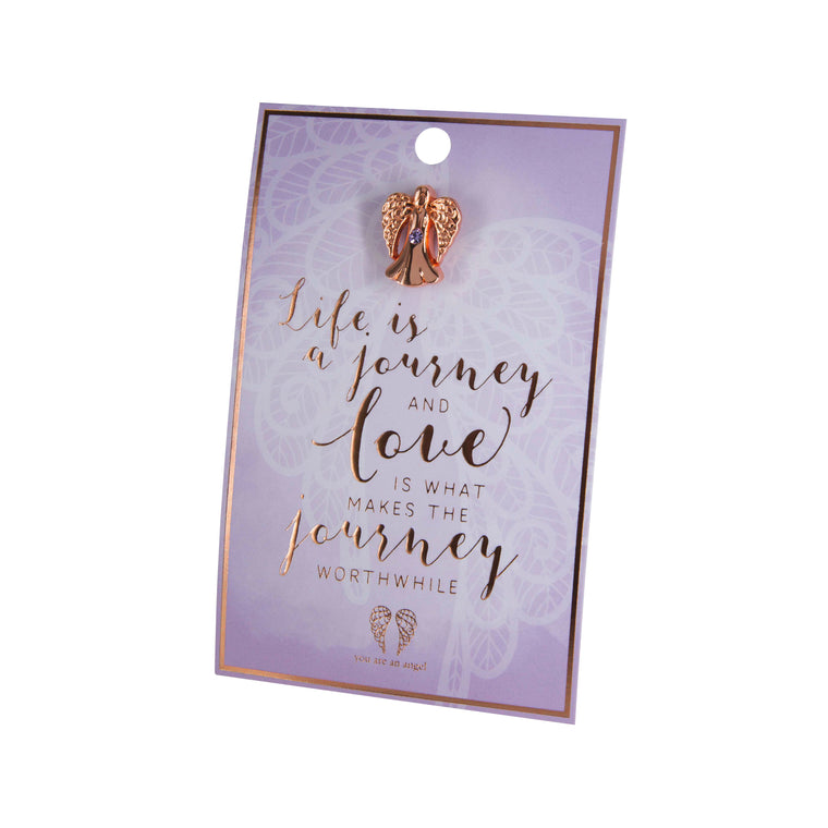 Journey and Love - Pin Card