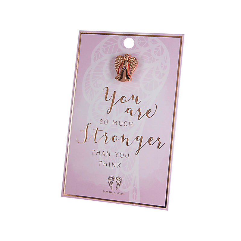 Stronger Than You Think - Pin Card