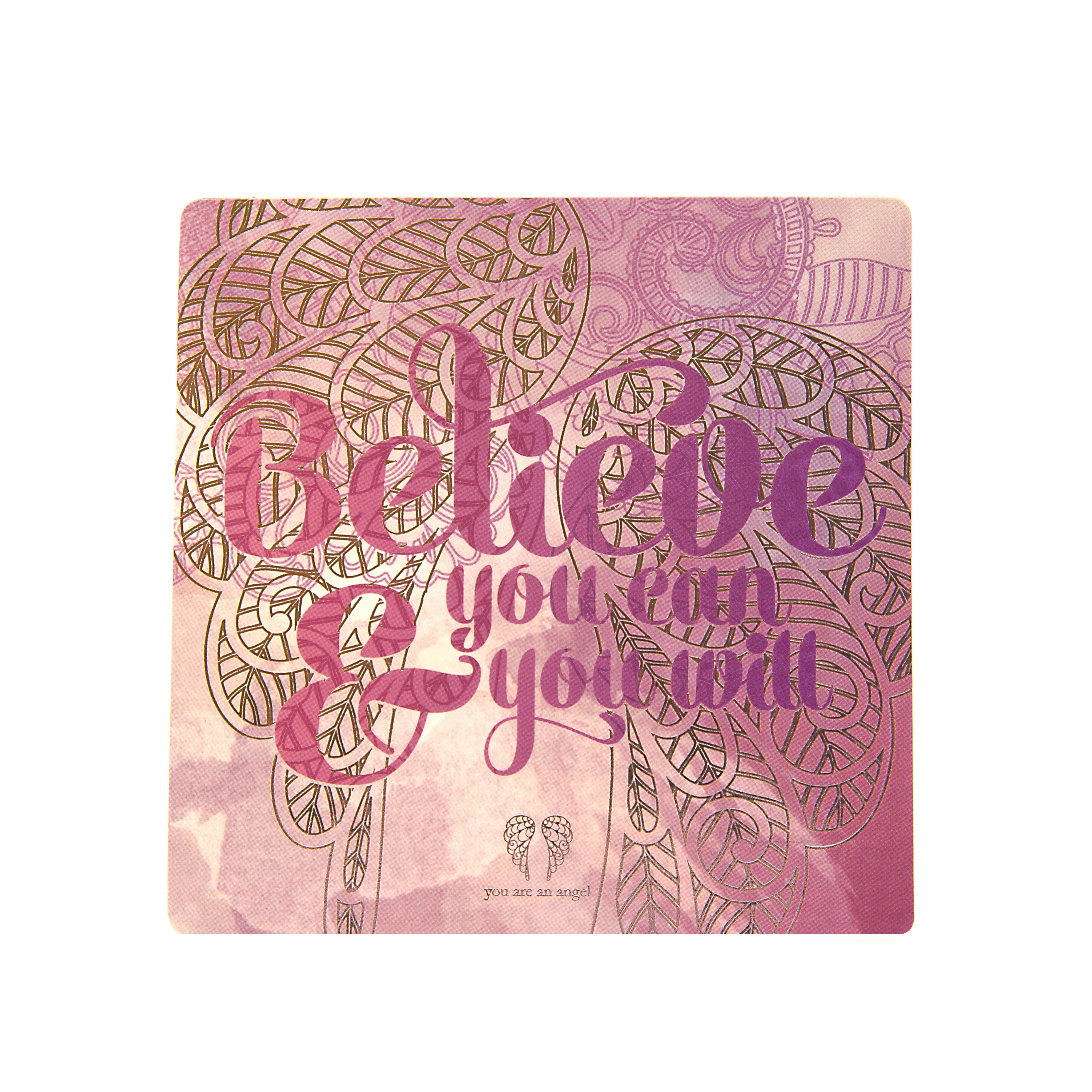 Believe You Can - Fridge Magnet