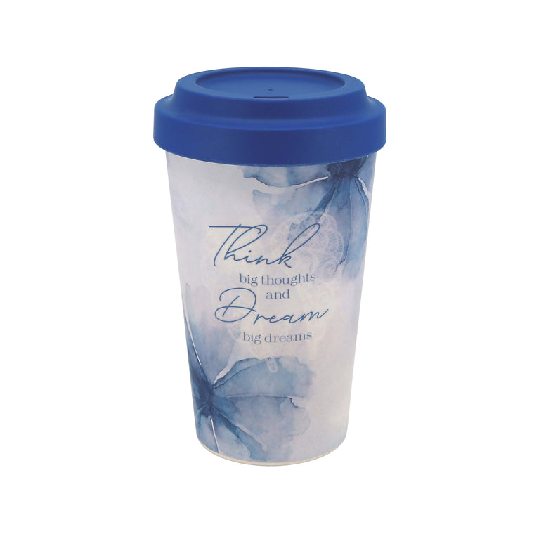 Think Big - Bamboo Travel Mug
