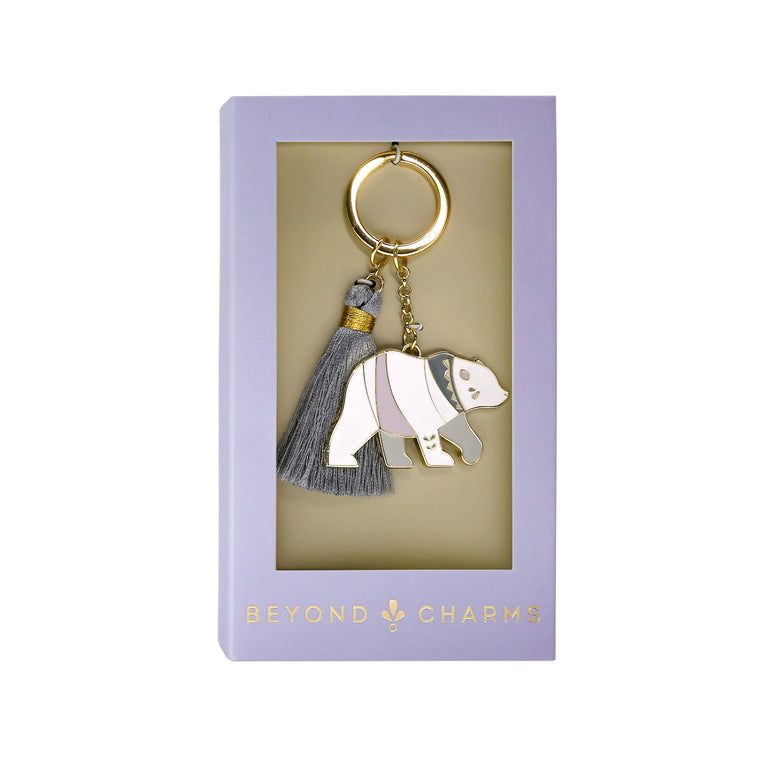 Polar Bear - Keychain