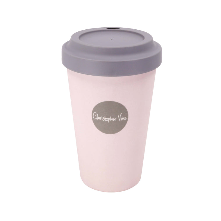 Angel Wings Pink - Bamboo Travel Mug