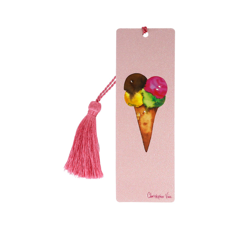 Four Scoops - Bookmark