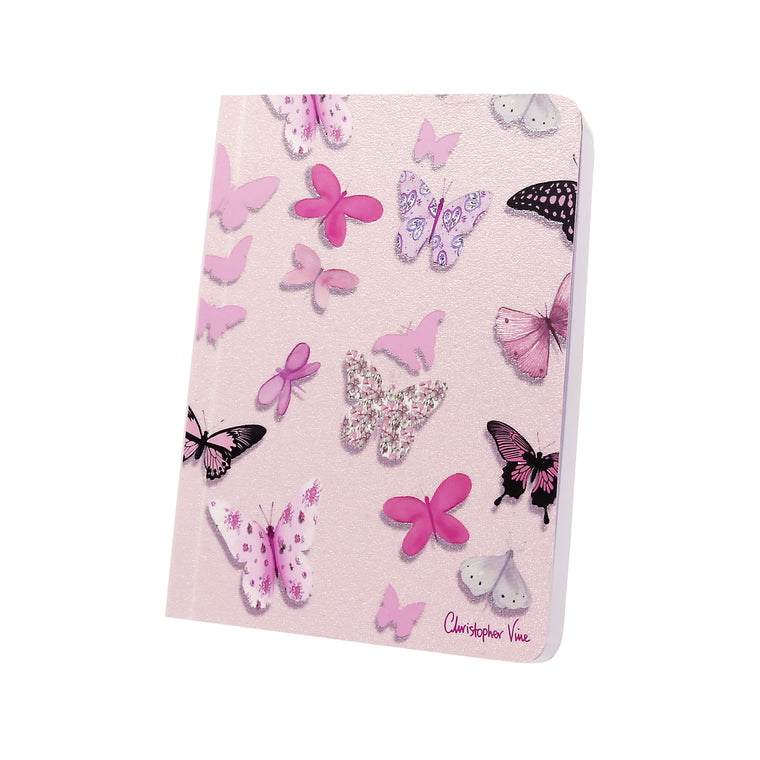 Pink Butterflies - Notebook