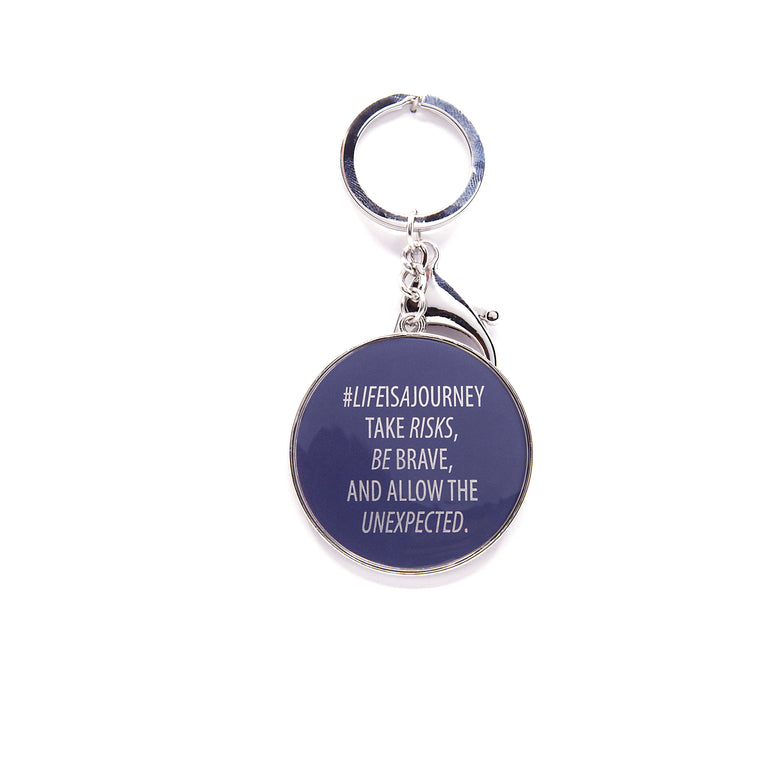 Life Is A Journey - Keychain