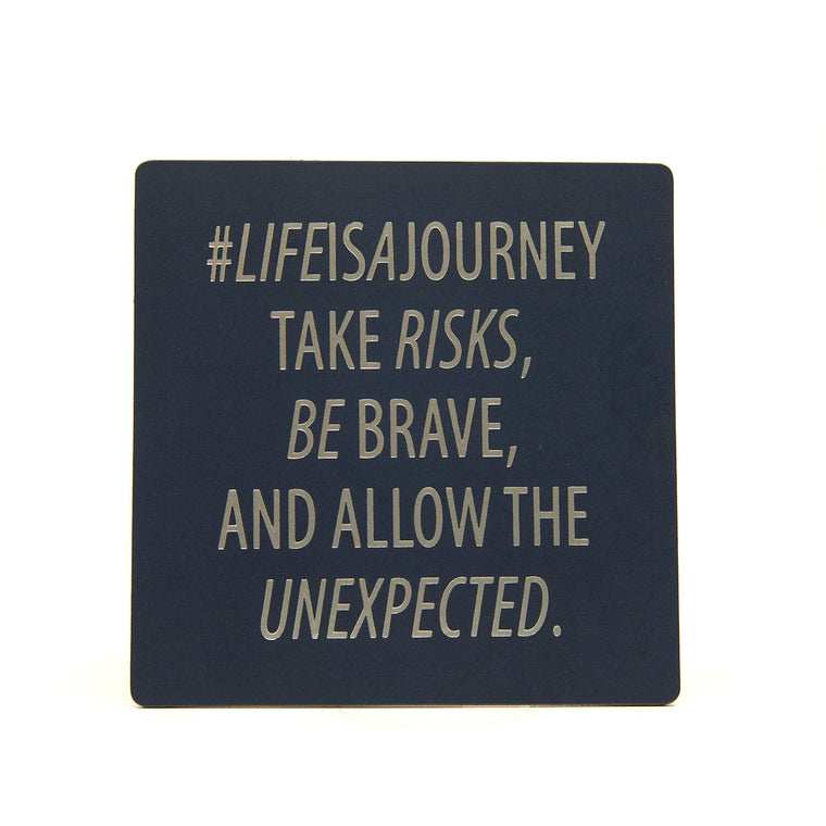 Life Is A Journey - Fridge Magnet