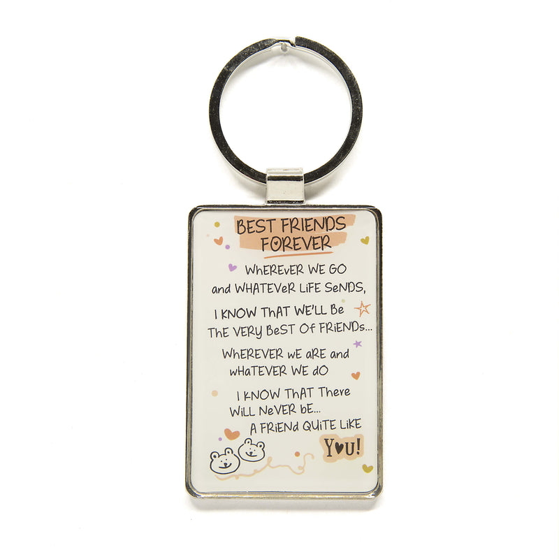 Best Friends Forever - Keychain
