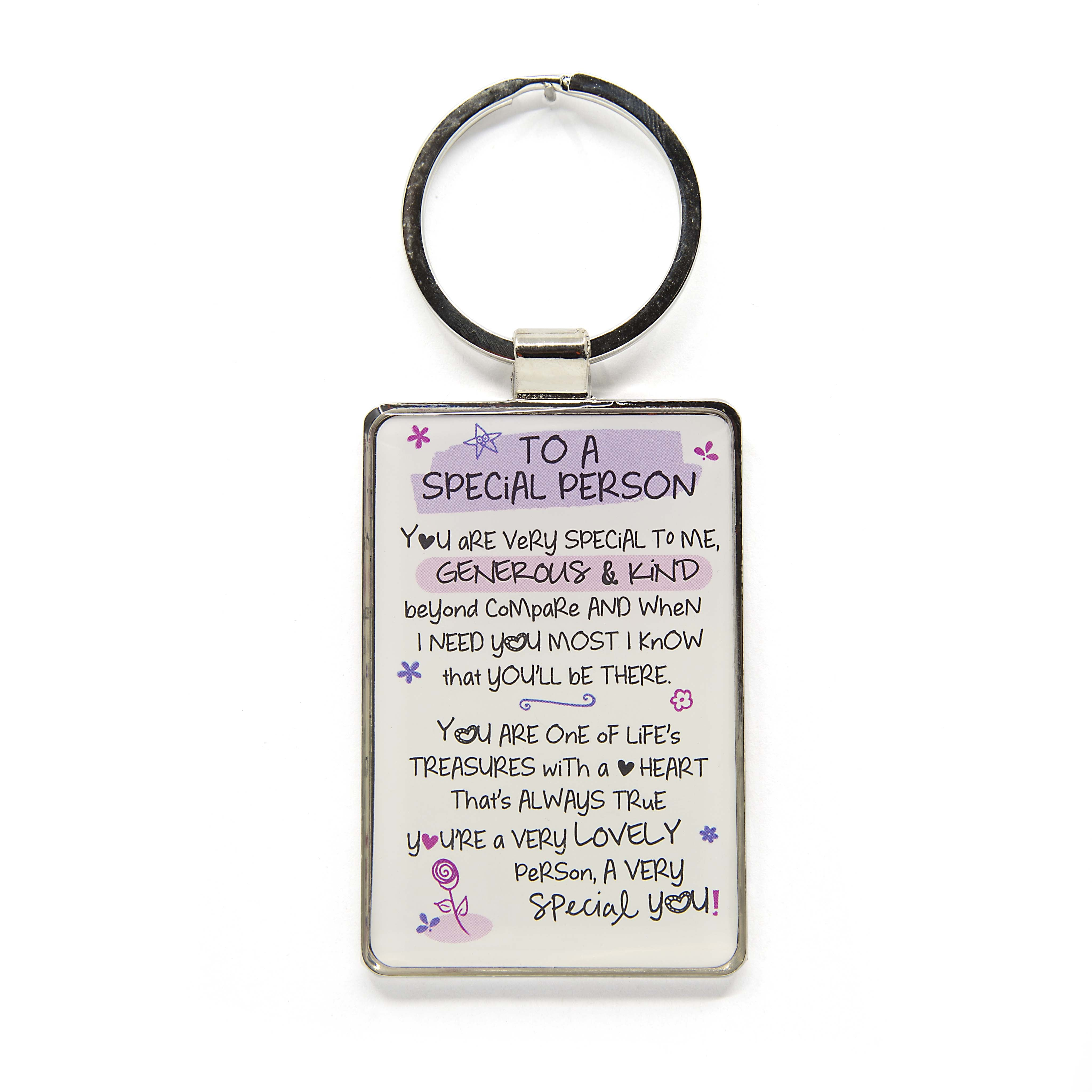 To A Special Person - Keyring