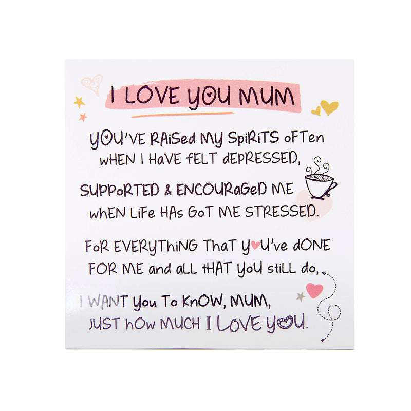 I Love You Mum - Fridge Magnet