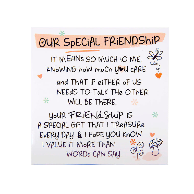 Our Special Friendship - Fridge Magnet
