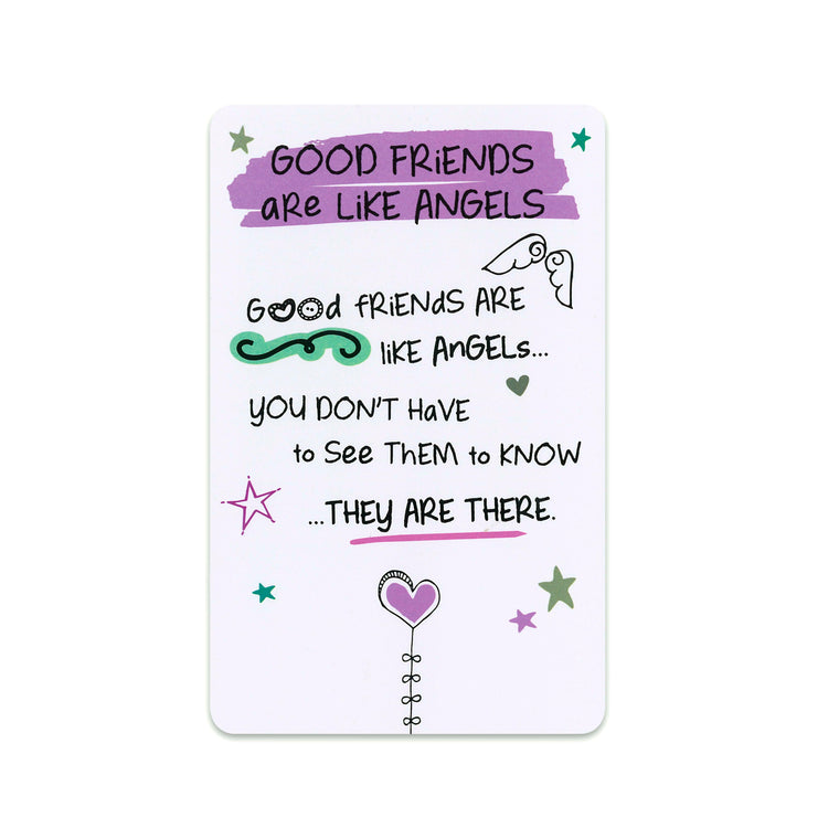 Good Friends Are Like Angels - Keepsake