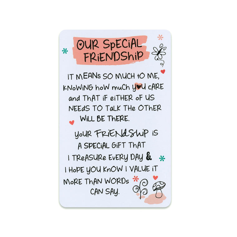 Our Special Friendship - Keepsake