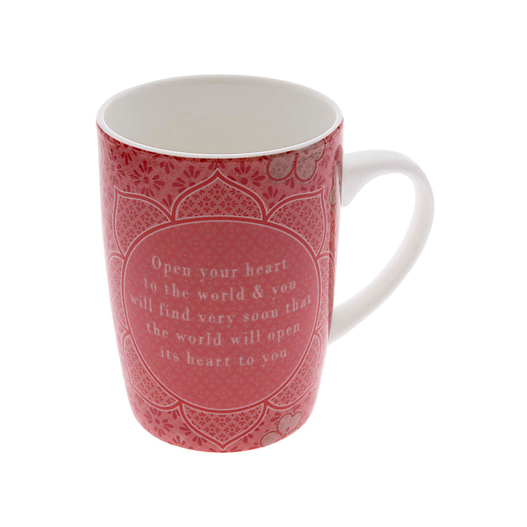 Open Your Heart - Mug