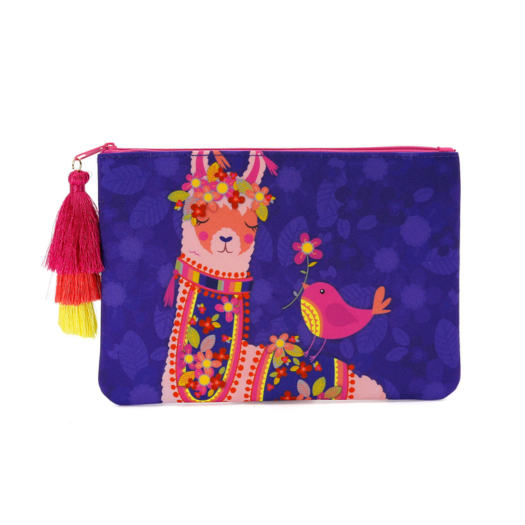 Llama Love - Cosmetic Purse
