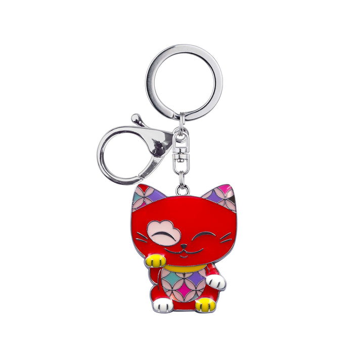 Cat 69 - Keychain