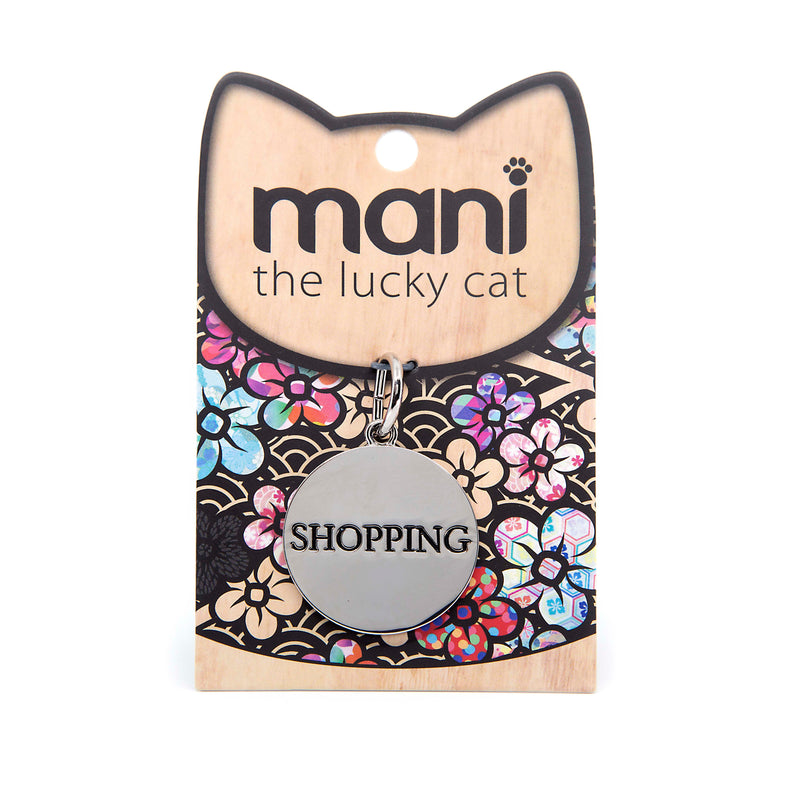 Shopping - 30mm Lucky Cat Charm