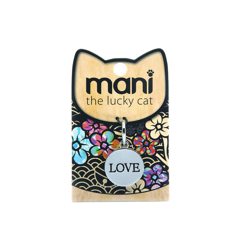 Love - 20mm Lucky Cat Charm