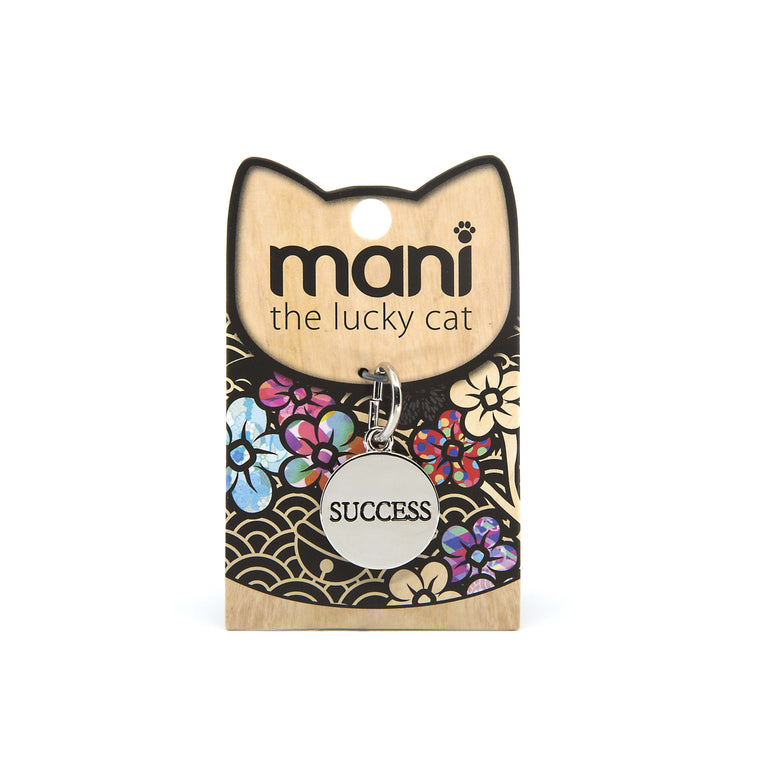 Success - 20mm Lucky Cat Charm