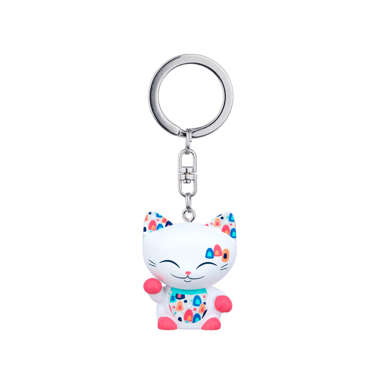 Cat 66 - Keychain