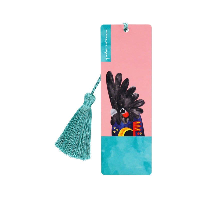 Black Cockatoo - Bookmark