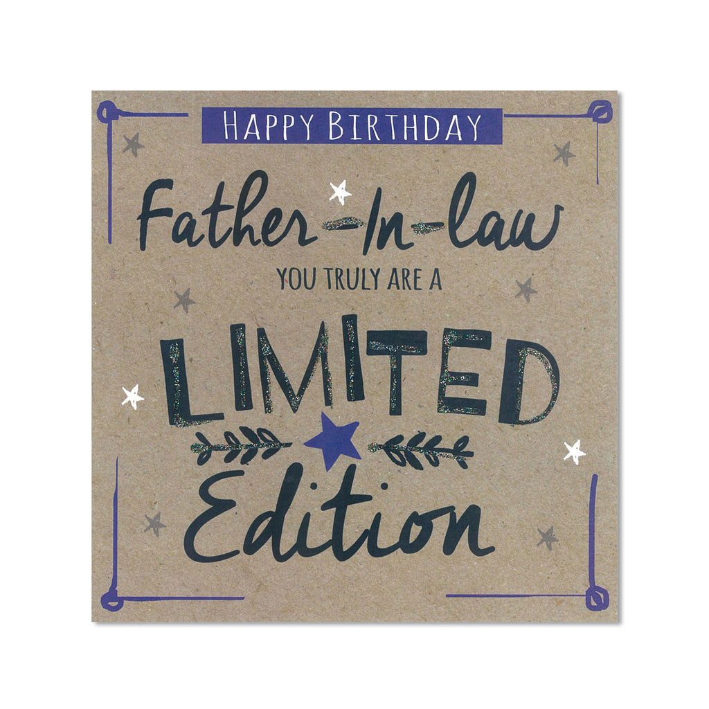 Father In Law Birthday Card