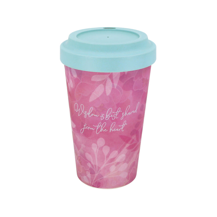 Kindness - Bamboo Travel Mug
