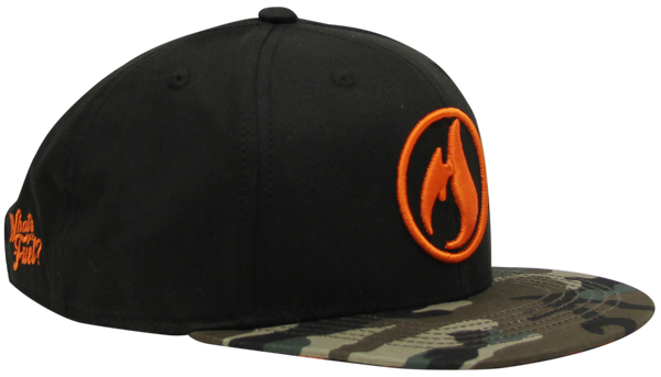 "Icon Hat 2.0 - ""Orange & Camo"""