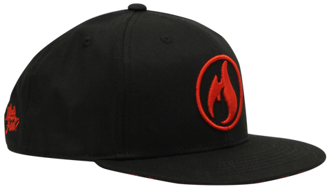 "Icon Hat 2.0 - ""Fire Red"""