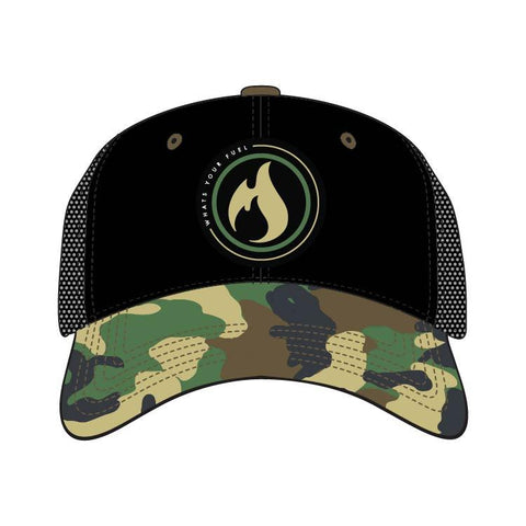 "Circuit Hat Low Profil - ""Camo"""