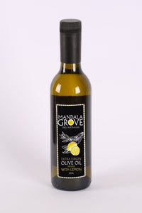 Extra Virgin Olive Oil with Lemon Infusion