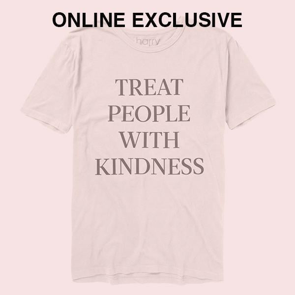 Treat People With Kindness Tee (White) - Harry Styles Australia