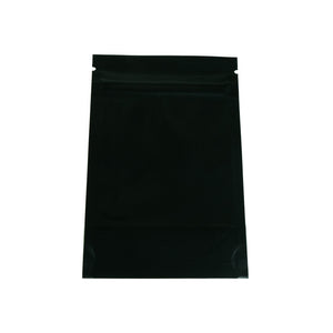 Stand Up Pouches / Mylar Bags 7x11cm (Matt Midnight Silver)
