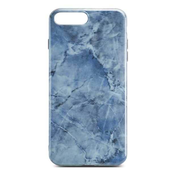 Bue Glossy Marble Case For iPhone 8 Plus