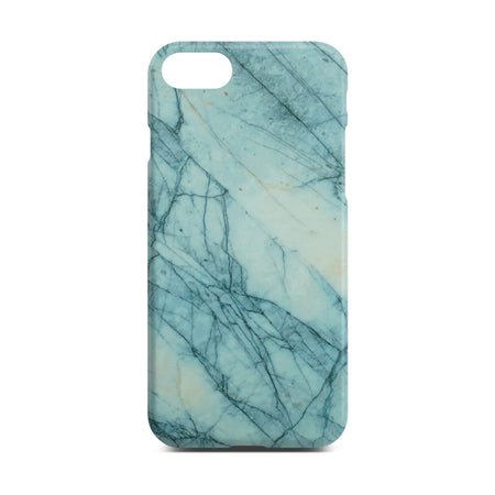 Matt Green Marble Case For iPhone 8