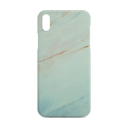 Matt White Marble Case for iPhone X