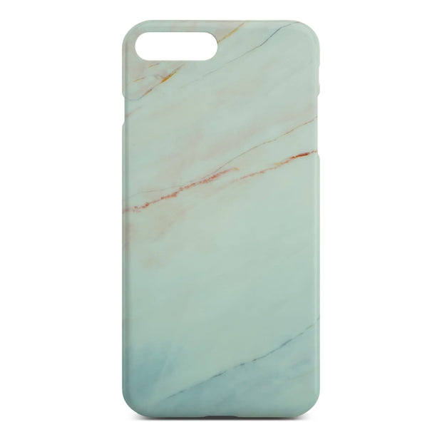 Matt White Marble Case For iPhone 8 Plus