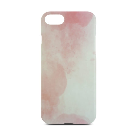 Matt Pink Marble Case For iPhone 8