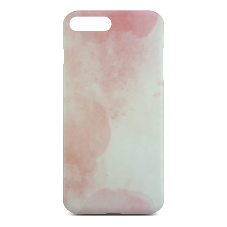 Matt Pink Marble Case For iPhone 8 Plus